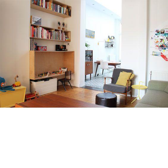 studio K, binnen- en buitenruimte