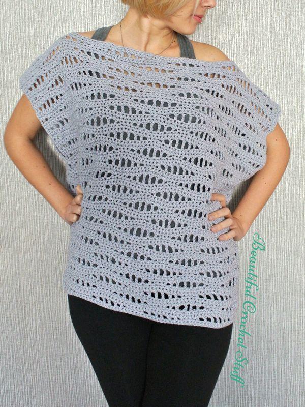 {Reader Tutorial} Free Crochet Poncho Pattern