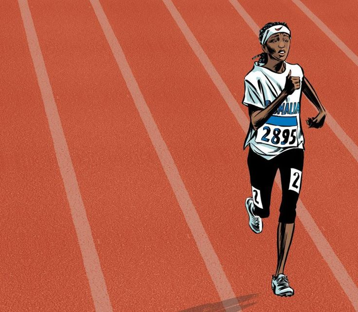 After traveling through Ethiopia, Sudan, and Libya, Omar got on a boat in the hopes of reaching Italy, finding a coach, and making it to the Olympics. But the boat carrying her ran out of fuel, acc…