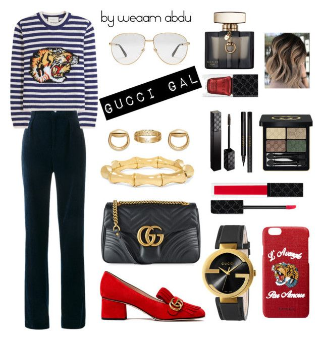 """""""Gucci"""" by weaam-abdu on Polyvore featuring Gucci #POLYVOREOUTFITS"""