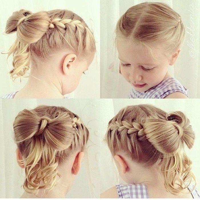 Но если у вас есть навыки детских причесок, совсем не обязательно идти к парикмахеру, можно сделать праздничную прическу для волос для девочки своими руками.