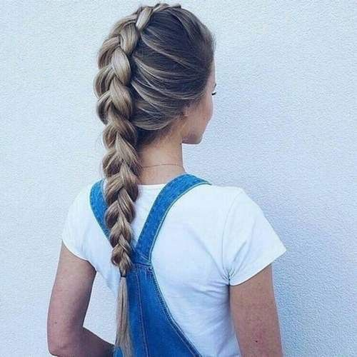 Beautiful Hairstyle In Oily Hair : Ideas about crazy braids on hair