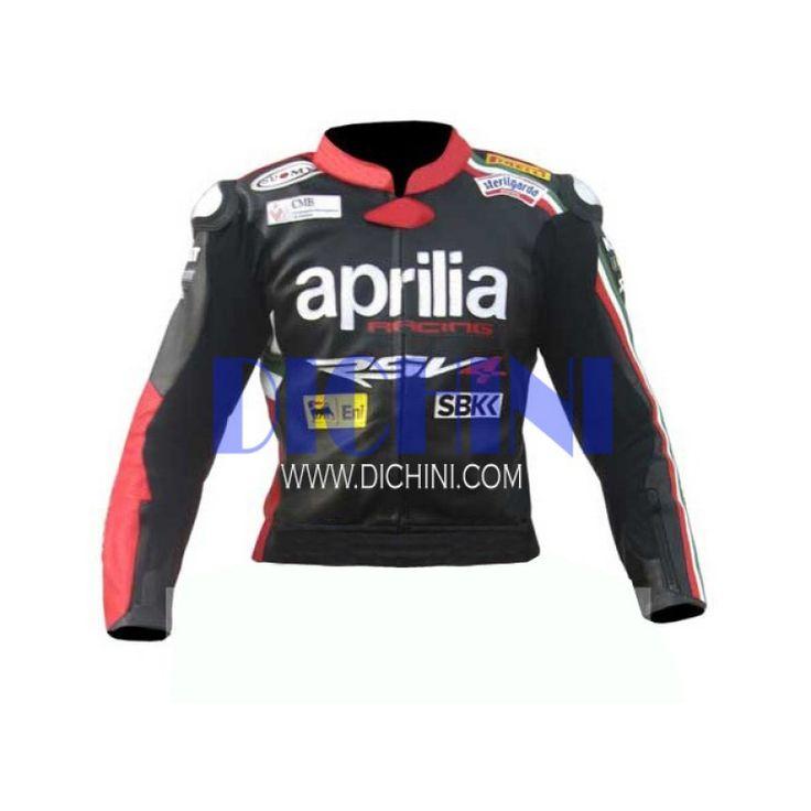 Aprilia Motorbike Leather Jacket