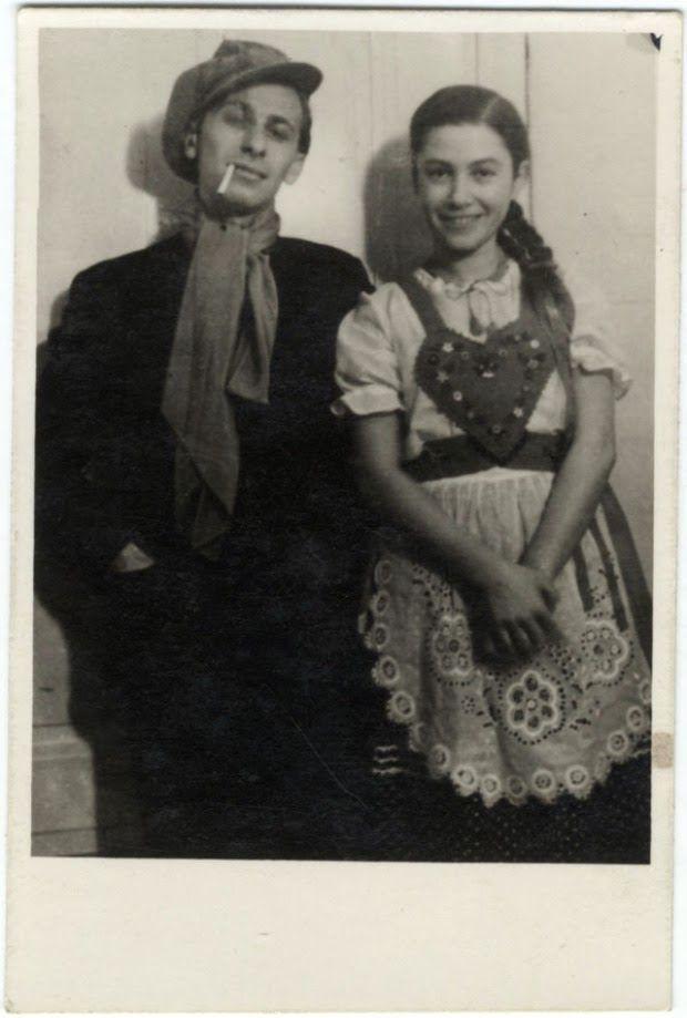 vintage everyday: Miklós Radnóti and his wife, 1937