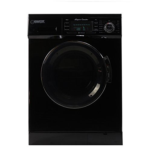 #dryers Equator #EZ-400CV-Black 13 lbs. #Black Convertible Combo Washer Dryer with Optional Venting/ CondensingThat feeling of having a washing machine that has b...