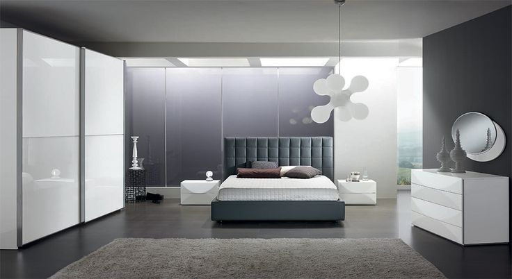 modern platform bed rondo 02 by spar, italy - $2,749.00 | italian ... - Spar Camera Da Letto