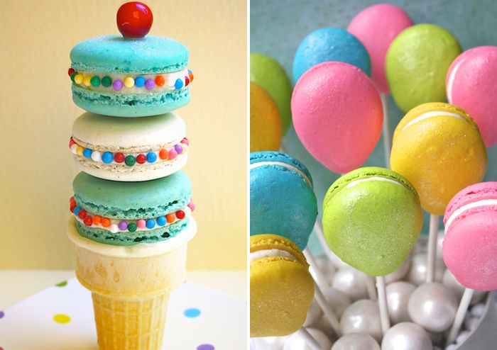 How cute are these macarons?