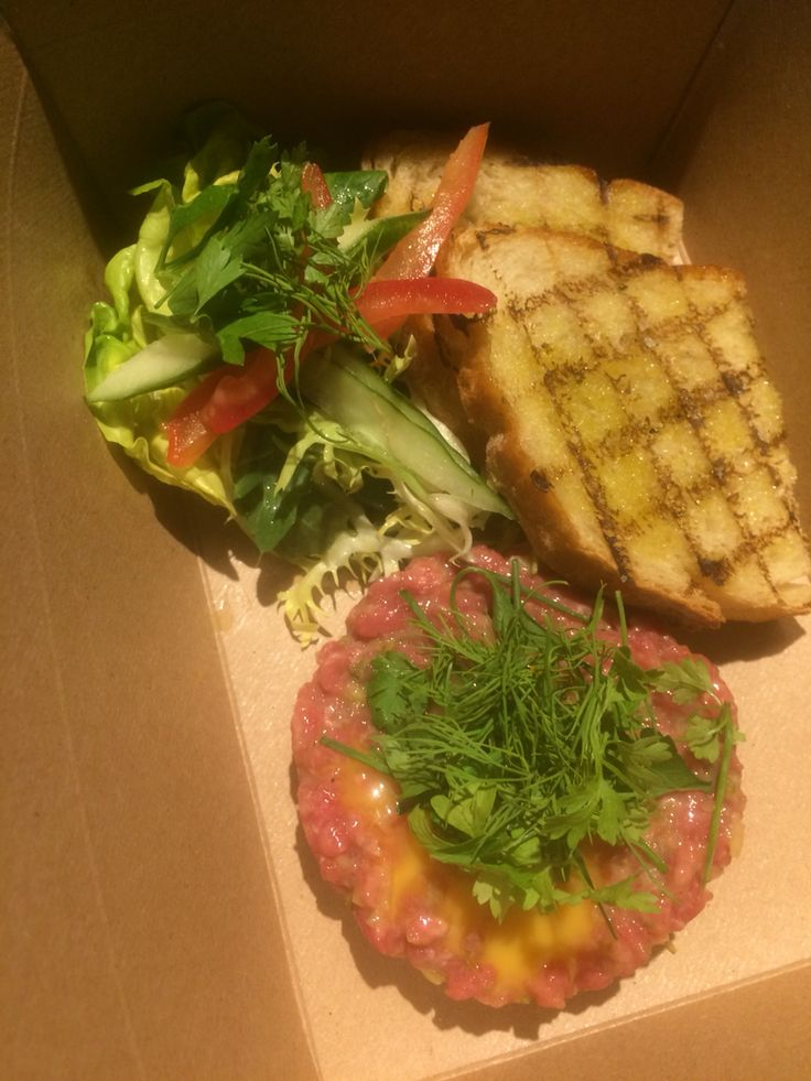 Steak in a box: To go