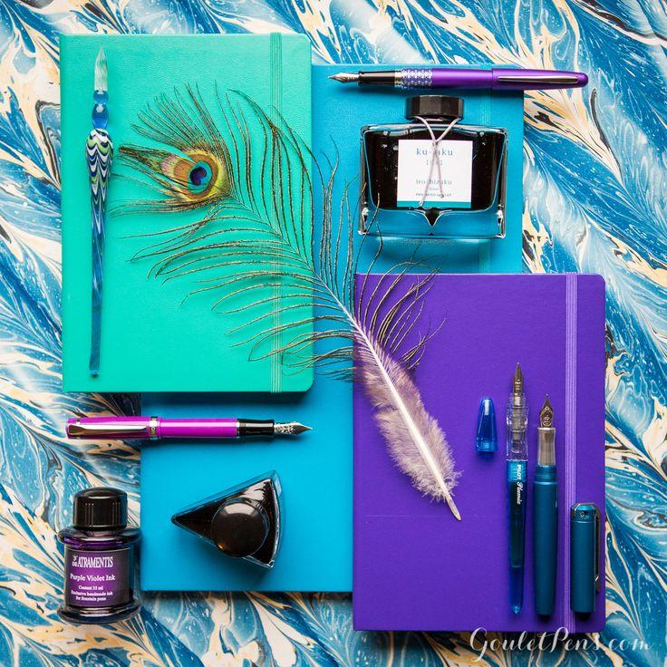 Goulet Pens Blog: Thursday Things: Peacock
