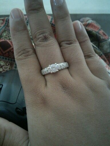 Silver ring want to be relationship ring