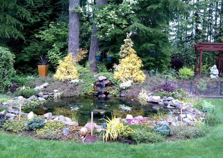 Pretty And Small Backyard Fish Pond Ideas At Decor Landscape Garden Pond  Design Awesome And Freshen