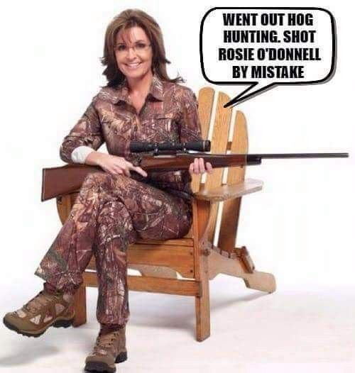 Fine looking woman, Mrs Palin is. --Smart too. Her net worth is $12 million, ya know.