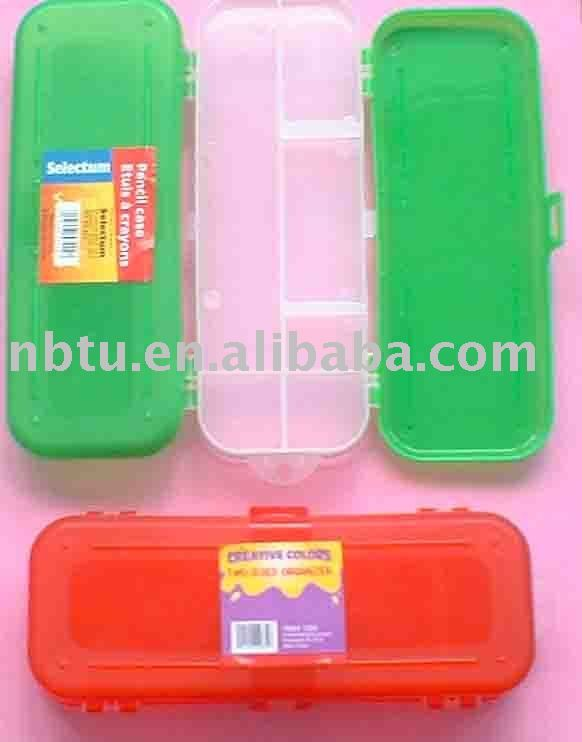 Double Side Cover Plastic School Pencil Case  sc 1 st  Pinterest & 207 best Clear plastic pencil boxes images on Pinterest | Plastic ... Aboutintivar.Com