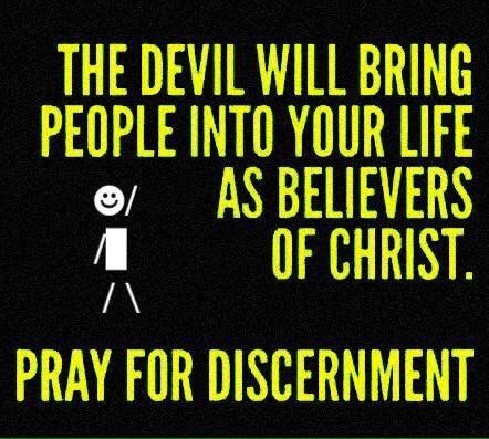 Discernment, many don't  have it and those who do are labeled as being misperceptive by the rest..