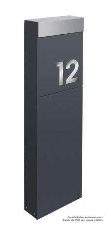 Frabox Standbriefkasten NAMUR SPECIAL EDITION von frabox - MK-DB1050-VA-RALx online kaufen in unserem Shop | www.bruh.de
