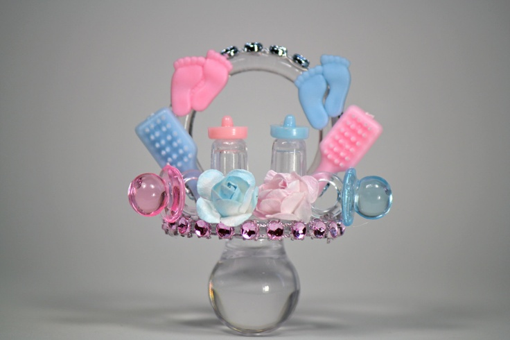 Centerpieces for twin baby shower baby shower for Baby shower decoration ideas for twin girls