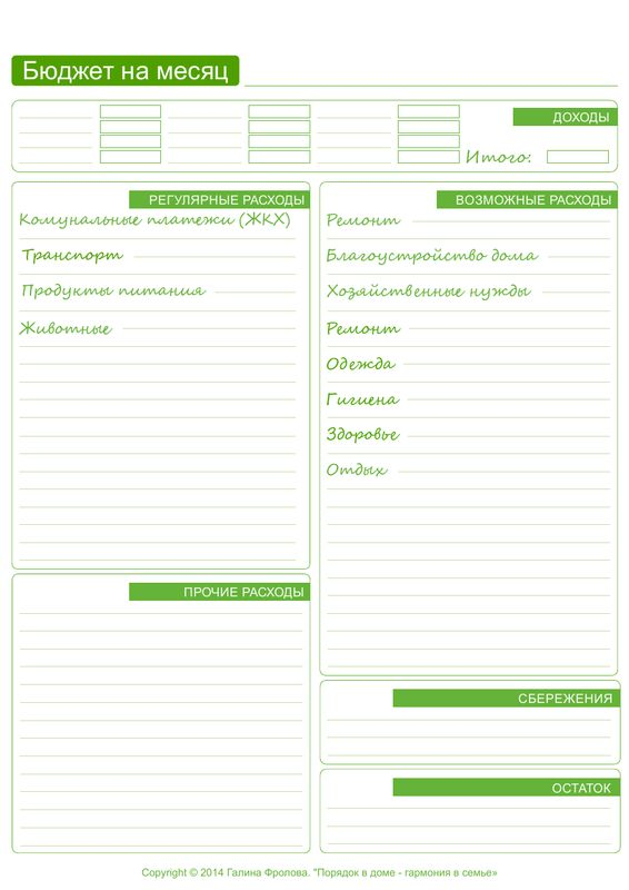 Бюджет на месяц отчет.pdf — Яндекс.Диск