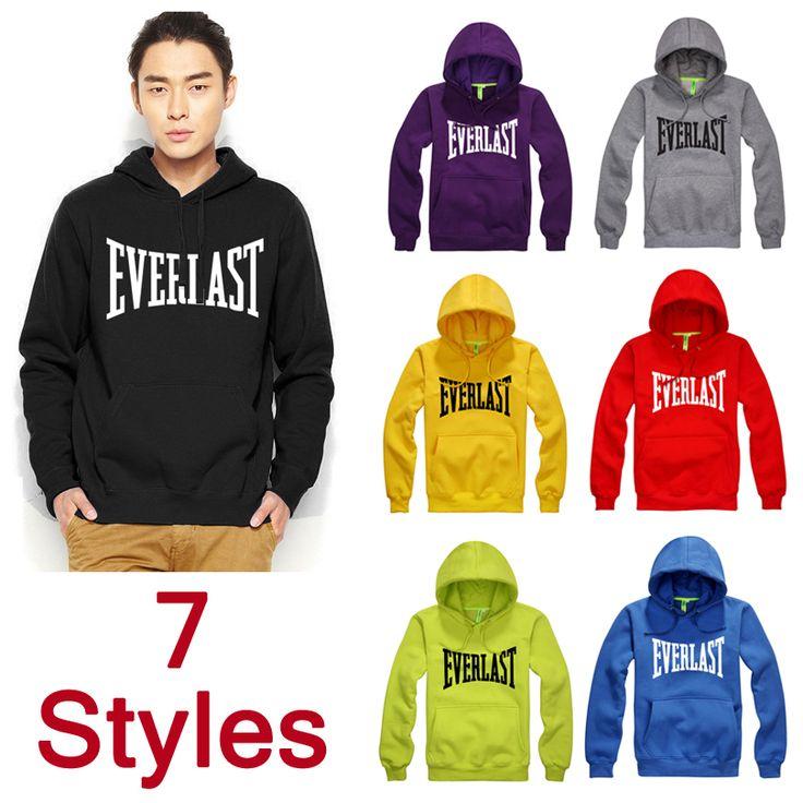 everlast hoodies | 2014 Muhammad Ali MMA Hoodies and Sweatshirts Thick Everlast Hoodies ...