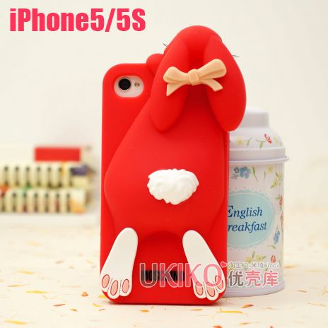Moschino Rabbit iPhone 5S, iPhone 4s Silicone Case