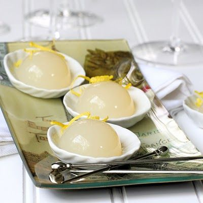 champagne jello shots: French75, French 75, Shots Test, Cups, Lemon Zest, Test Kitchens, Jello Shots Recipes, Cocktails, Jelly Shots