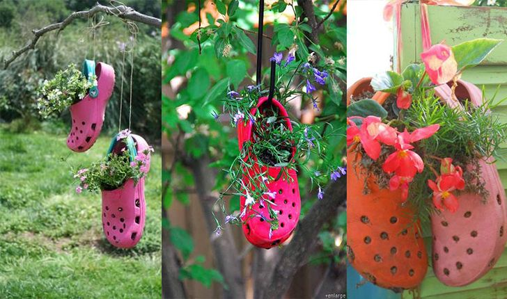 17 best images about zapatos viejos no los cambio old - Macetas originales para plantas ...