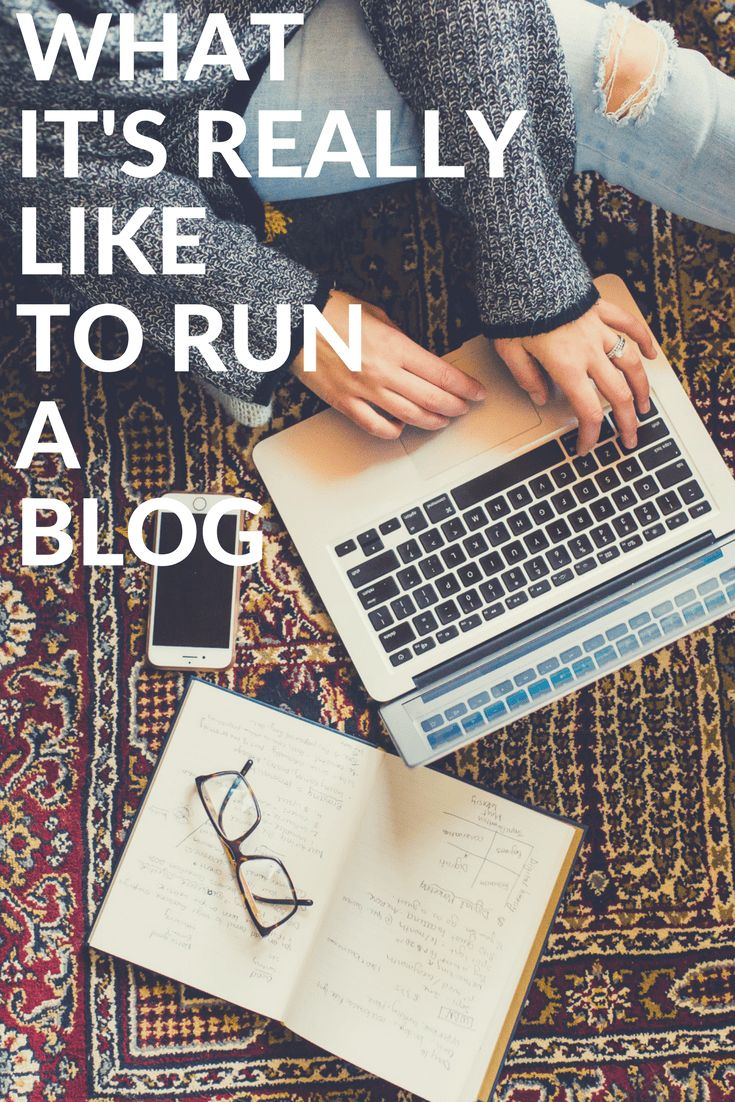 What it's really like to run a blog - behind the scenes of blogging after 1 year