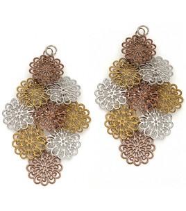{styled} By Tori Spelling TM Boho-Danglers Metal Filigree Flower Shapes & {styled} By Tori Spelling TM at Joann.com
