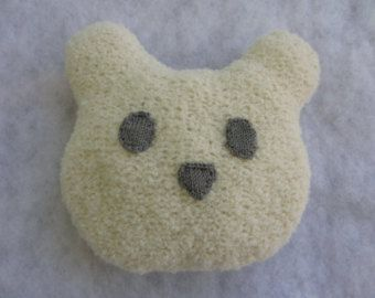 Hand knit baby bear cushion made of alpaca boucle yarn. - Edit Listing - Etsy