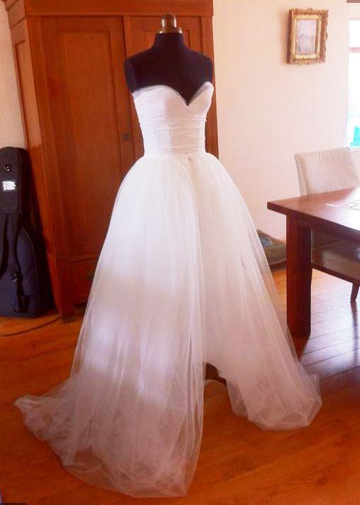My DIY weddingdress (almost done) What do ya think?! (pic heavy) :  wedding bridal bride bridesmaids diy diy dress dress gallery gold ivory made pic real weddingdress white IMG 20130523 WA0002