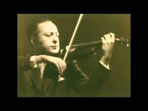 Heifetz plays Bach-Gounod: Ave Maria ('live')
