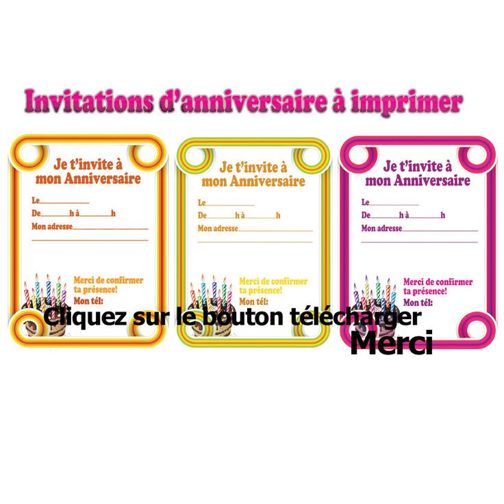 Top Image associée | carte invitation | Pinterest LE45