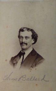 Charles Ballard, Co E, 79th Indiana Infantry. Wagner's Division. Conrad's Brigade.