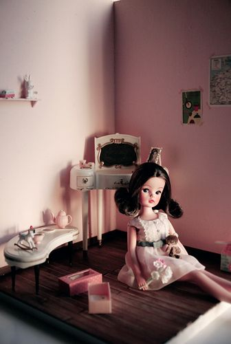 Sindy and the doll house by Lonely Sarah, via Flickr