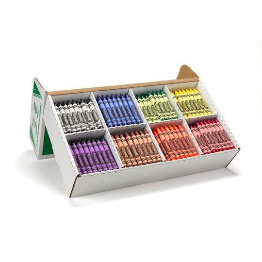 Crayola Crayon Classpack, Large Size