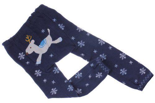 EOZY Azul Oscuro Ciervo SIZE80 Bebé Niño Niña Calentadores De La Pierna Calcetines Animales Polainas Pantalones