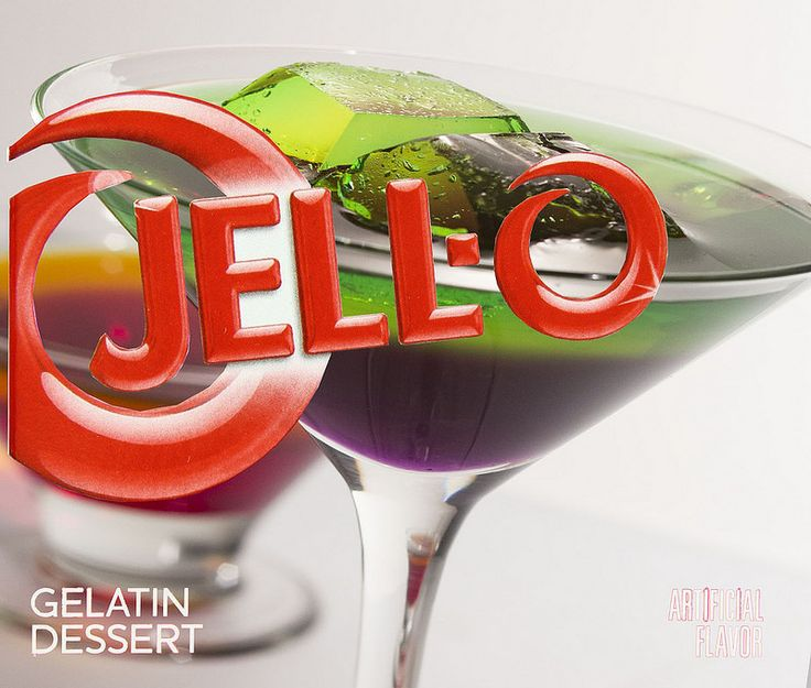 Jello is fun as a martini