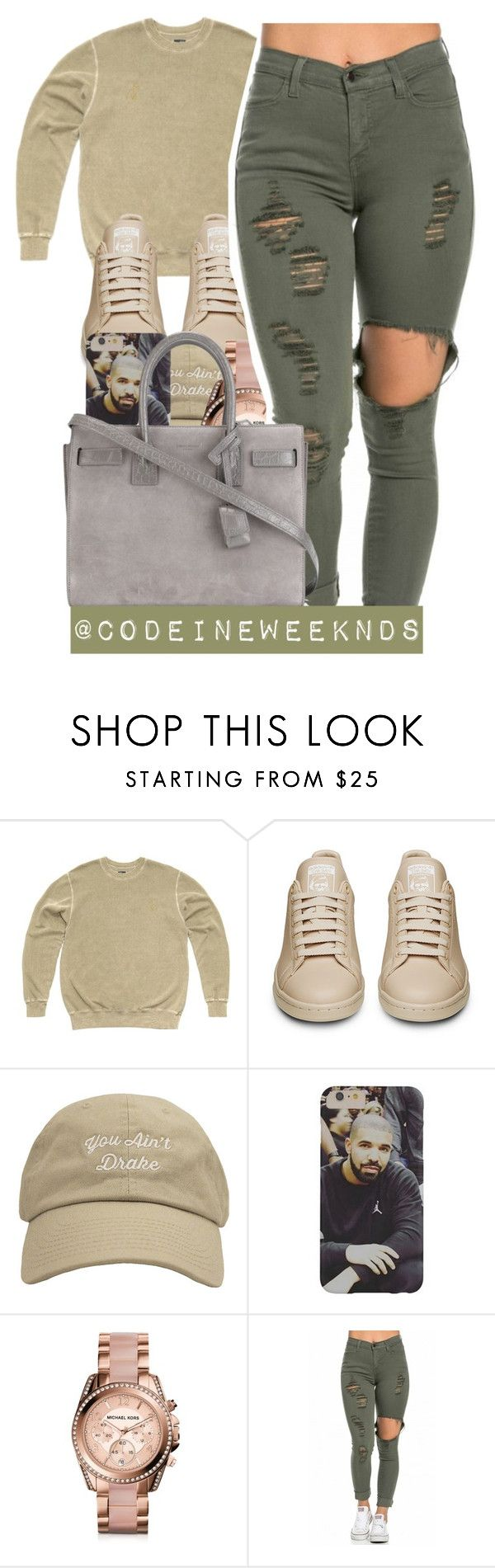 """""""12/25/15- MERRY CHRISTMAS GUYS ❤️"""" by codeineweeknds ❤ liked on Polyvore featuring October's Very Own, Michael Kors and Yves Saint Laurent"""
