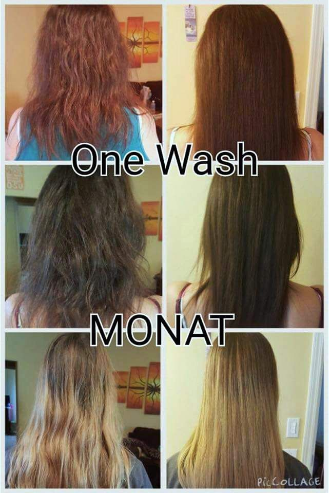 Haare farben im 6 monat