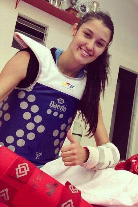 Talisca Reis, brazilian taekwondo fighter