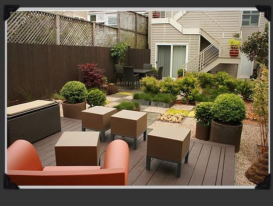 Inner richmond rear garden paxton gate landscape design for Garden design richmond