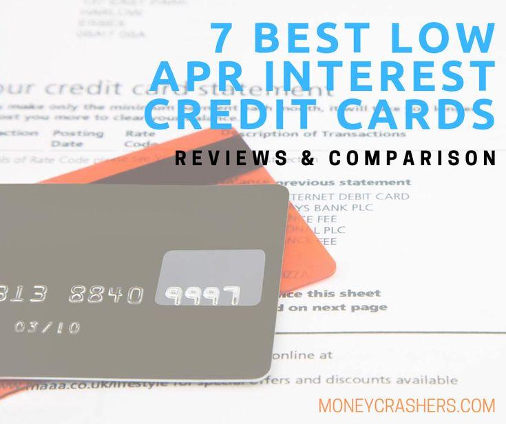 7 Best Low APR Interest Credit Cards