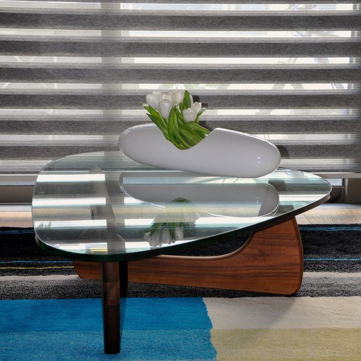 HAY Colour Carpet 01 / Isamu #Noguchi table / VAST Captule Vase / DESTINY & DESIGN Rollers
