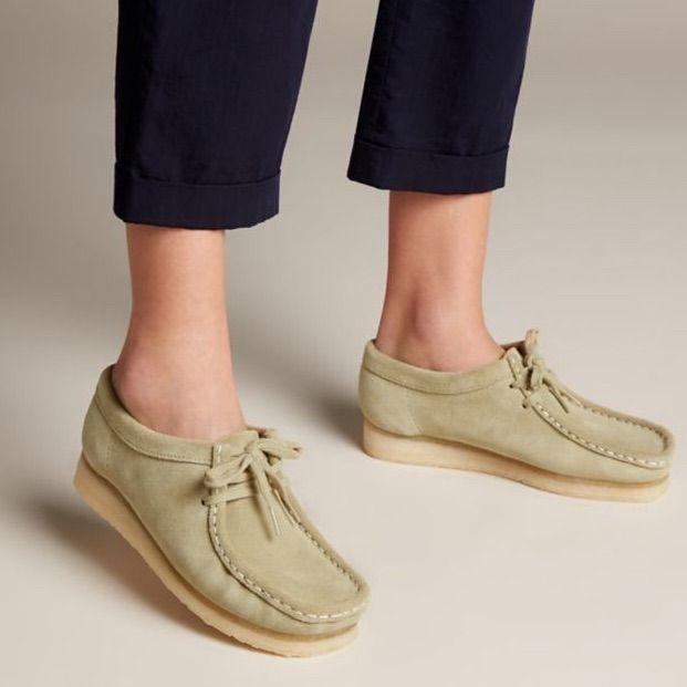 women's clark wallabees on sale