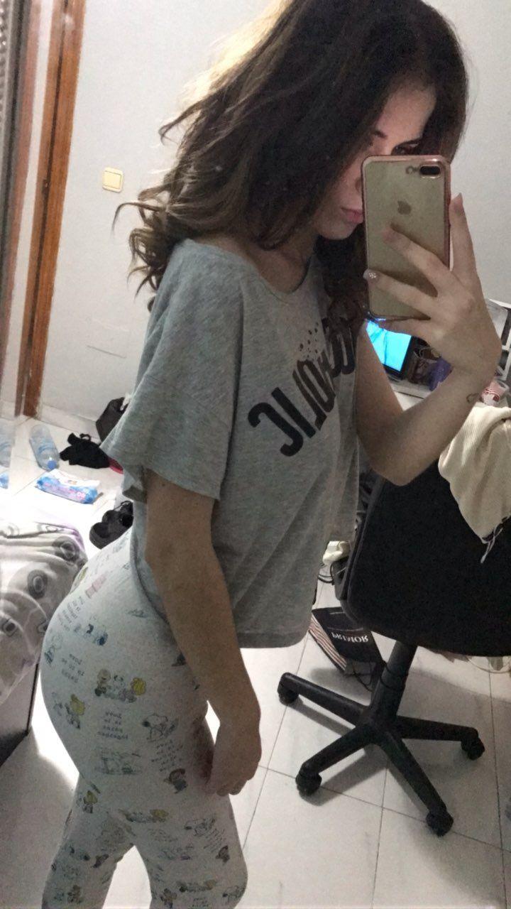 Booty Babe In Pajamas - Babe, Booty, Hottie, Pajamas -9690