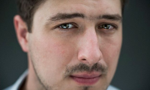 The ridiculously handsome Marcus Mumford, photographed by Chad Batka