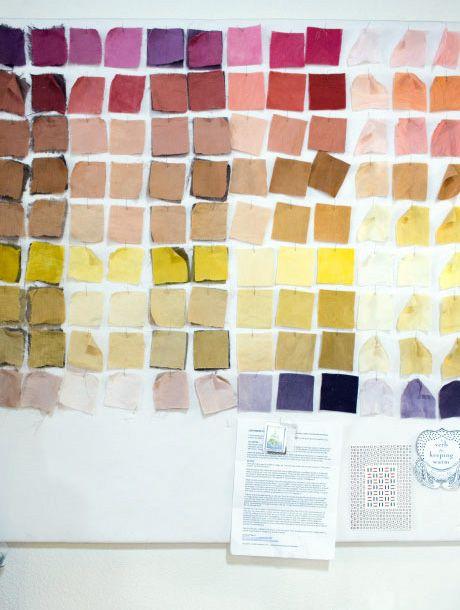 The Modern Natural Dyer: el libro de los tintes naturales | itfashion.com