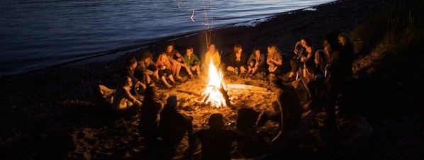 S'mores + Ocean Beach Bonfire...yes please