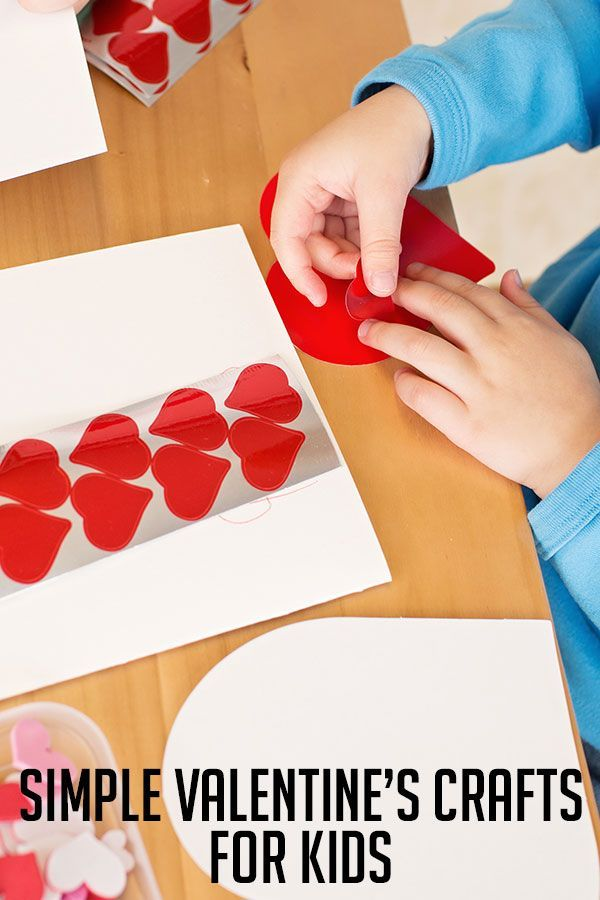 Simple Valentine S Crafts For Kids Favorite Kid Pinners