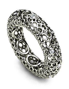 Custom Made And Unusual Wedding Ring