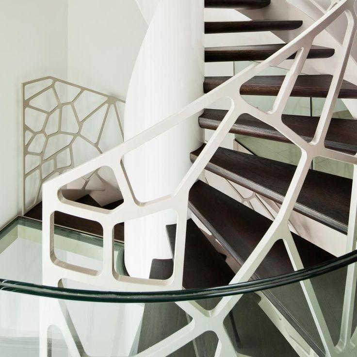 Перила для лестницы (57 фото): удобно, безопасно и привлекательно - HappyModern